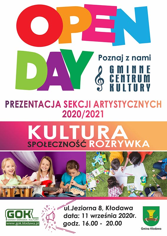 PLAKAT GOK OPEN DAY x800